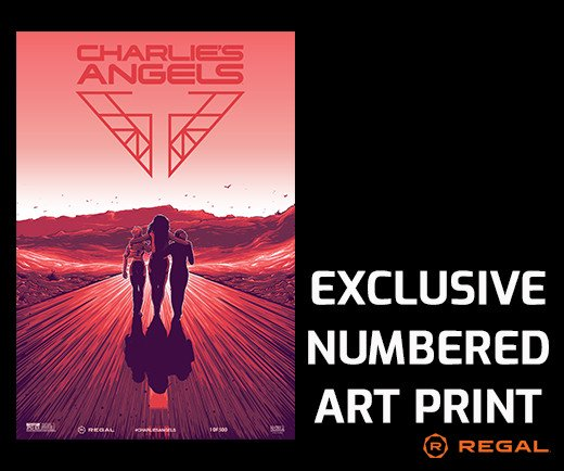 "Charlie's Angels - 13"" x 19"" Exclusive Numbered Art Print"