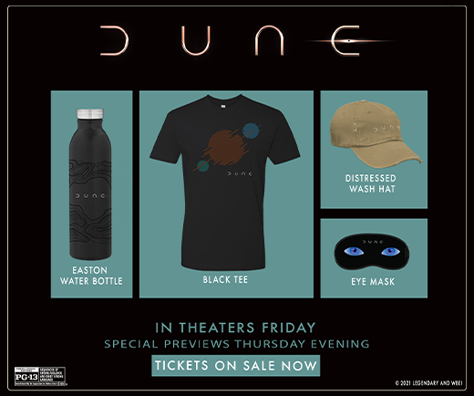 Sweepstakes - Regal Crown Club® Dune Prize Pack