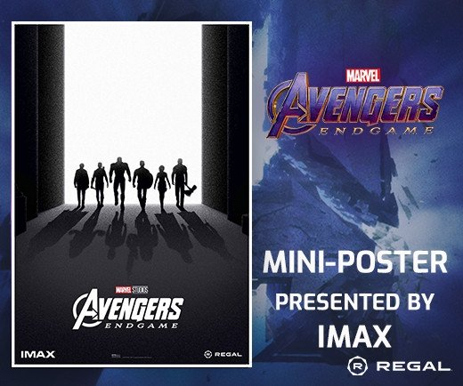"Marvel Avengers: Endgame - 13""x19"" IMAX Mini-Poster (Week 2)"