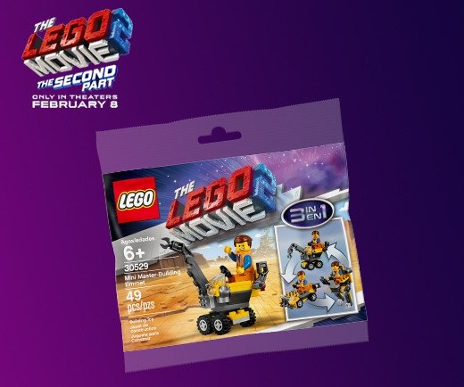 The LEGO Movie 2: The Second Part - LEGO Mini Master-Building Emmet