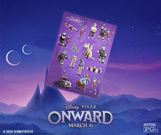 Onward - Stickers