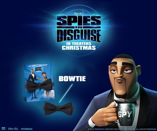 Spies in Disguise - Bow Tie (Youth)