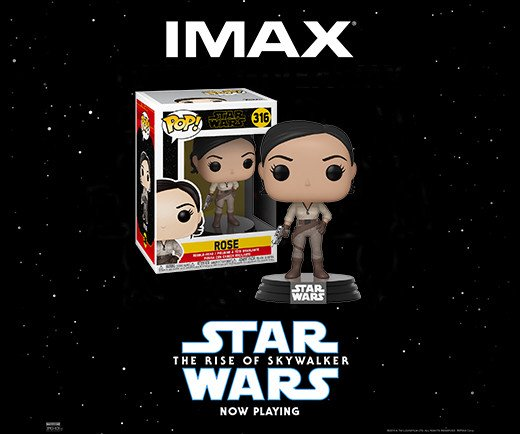 Star Wars: The Rise of Skywalker -  Funko Pop! Rose
