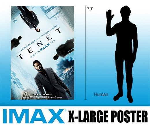Tenet - Extra Large IMAX Poster