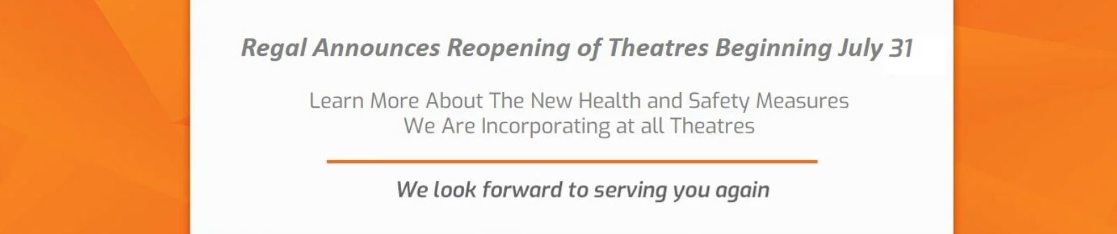 Theatres Re Opening